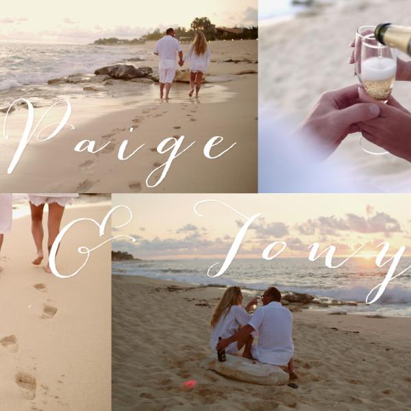 Paige & Tony // St Maarten (Caribbean)