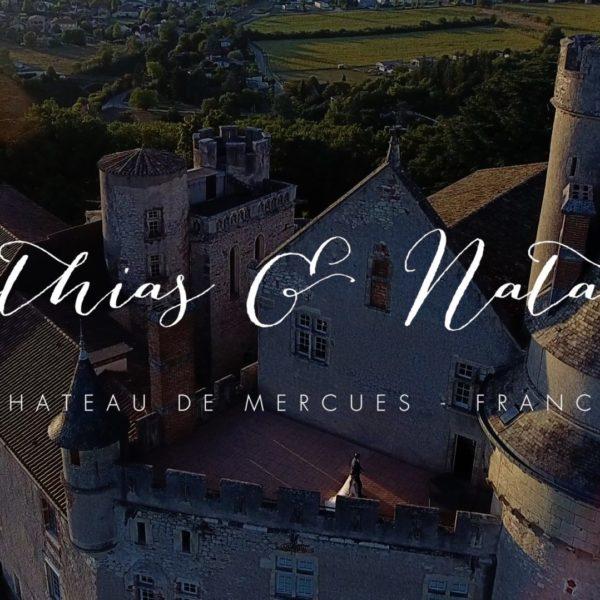 Mathias et Natacha // Chateau de Mercues